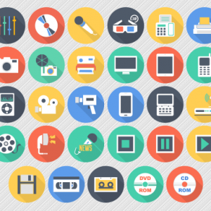 free-flat-multimedia-icons-ai-pngs-2
